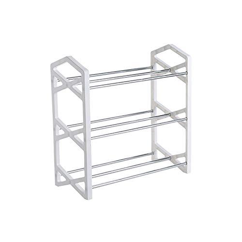 1 soporte para zapatos, organizador de almacenamiento para dormitorio, gabinete multifunción, fácil de montar varias capas