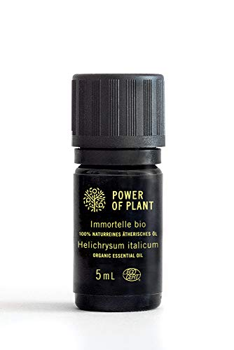 Immortelle Bio 100% naturreines Ätherisches Öl 5 ml, Helichrysum Italicum 100% Pure Organic Essential Oil 5 ml