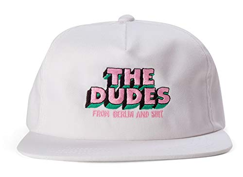 The Dudes Dudes And Shit 5 Panel Cap Whi Größe: one size