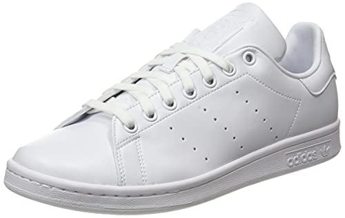 adidas Stan Smith, Scarpe da Ginnastica Uomo, Ftwr White/Ftwr White/Core Black, 43 1/3 EU