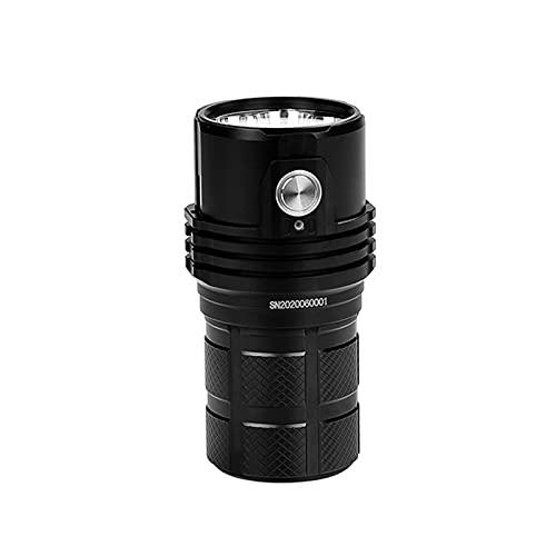 ZGLXZ 25000 Lumenses Fuertes Linterna De Luz, Linterna Recargable Magnética De Larga Distancia con La Batería Recargable De 21700 Energía Constante
