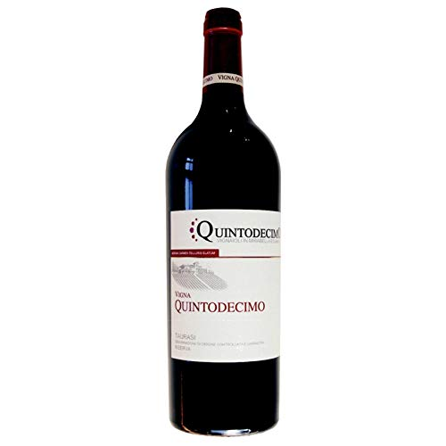 Vino Taurasi riserva Vigna Quintodecimo DOCG rosso - Quintodecimo - Cartone da 6 Pezzi