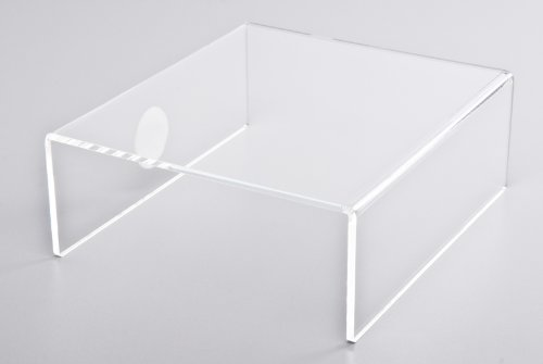 Ergotrading E5 +8 Monitorerhöhung, Acrylglas, 23 x 8 x 20 cm klar
