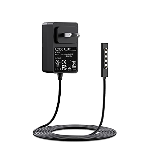Surface RT Charger Surface Pro1 Pro2 Charger 12V 2A 24W Replacement...
