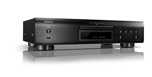 Denon DCD800NEBKE2 CD-Player (Aluminium Frontblende, Eco-Standby, Front USB) Schwarz