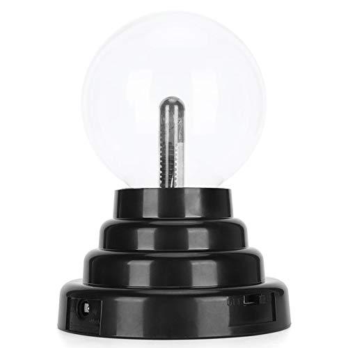 FECAMOS Bola de Plasma USB, Modos de Fuente de alimentación duraderos de luz de Plasma conmovedores 2 para Regalo para el hogar