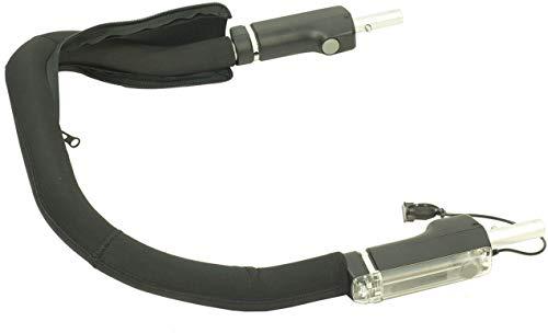Croozer Unisex– Erwachsene Schiebebügelbezug-3092016121 Schiebebügelbezug, schwarz, One Size