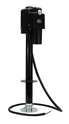 Quick Products Black JQ-3500B Electric Tongue Jack (Renewed)