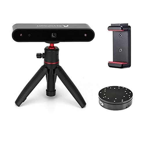 Revopoint POP 3D Scanner con piattaforma girevole Precisione 0,3mm velocità 8fps Modalità di scansione automatica o fissa Possibilità di scansionare viso e corpo adatto anche per stampa 3D a colori