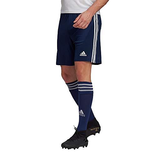 adidas Herren Squadra 21 Fu ball Shorts , Team: Marineblau Weiß., L EU