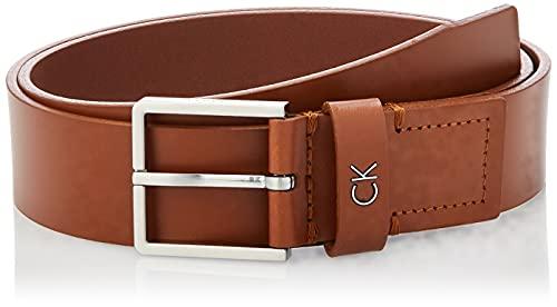 Calvin Klein Herren FORMAL Belt 3.5CM Gürtel, Braun (Cognac 223), 675 (Herstellergröße: 95)