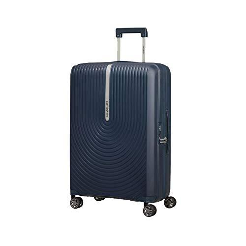 valigia samsonite hi fi espandibile quattro ruote blu