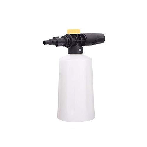 SUNASQ 750 ml lanza de espuma de nieve para Karcher K2 K3 K4 K5 K6 K7 coche lavadoras a presión generador de espuma de jabón con boquilla de rociador ajustable