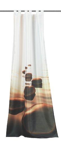 Home Fashion Wohnprofi - Tenda Lincoln in Stoffa, con Stampa Digitale, 245 x 120 cm Altro Modello Marrone