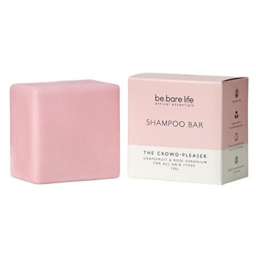 Be.Bare Life The Crowd-Pleaser (Grapefruit & Rose Geranium) Shampoo Bar