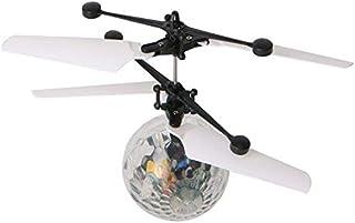 راشال البسيطة الأطفال تحلق أرسي الكرة الصمام اللمعان ضوء طائرات هليكوبتر الأشعة تحت الحمراء التعريفي أرسي لعبة