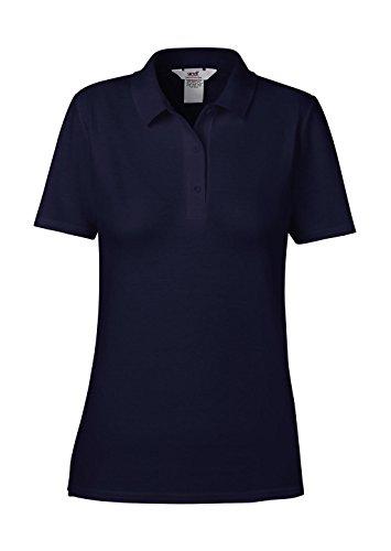 anvil Damen Fashion Basic Polo Piqué / 6280L, Einfarbig, Gr. 40 (Herstellergröße: M), Blau (NAV-Navy 032)