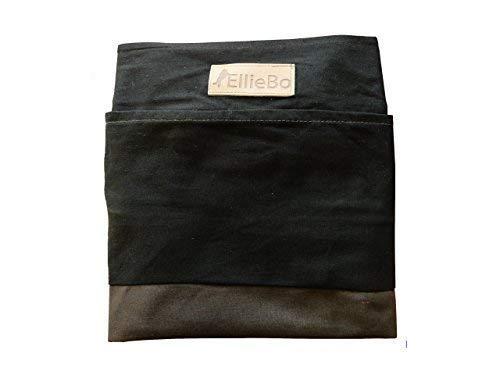 Ellie-Bo Jumbo - Funda de Cama para Perro a Rayas, 152 cm, Color Negro y marrón