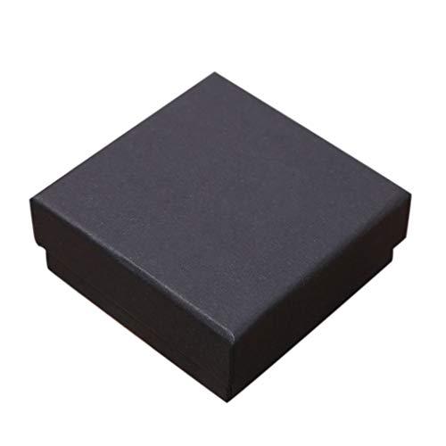 Fengyuanhong Halsketten-Armband-Armband-Ohrring-Ring-Speicher-Fall-Packpapier-Geschenk-Verpackung Schmuck Schwamm Box