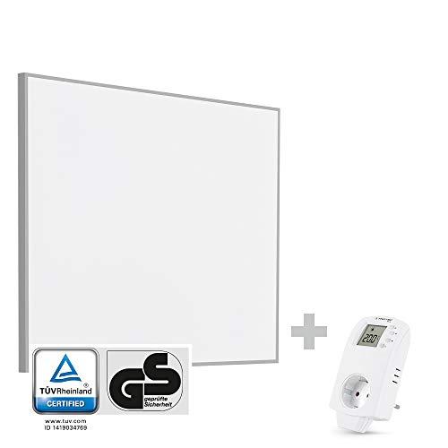 TROTEC TIH 300 S Infrarot-Heizplatte Infrarotheizung Heizpaneel 300 Watt inkl. Steckdosen-Thermostat BN30