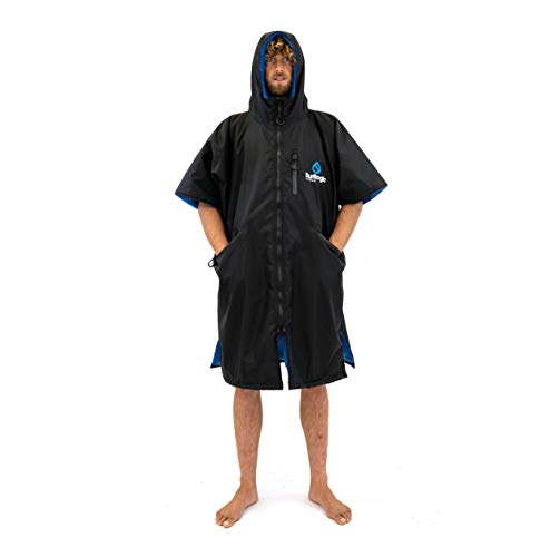 SURF LOGIC Surflogic Storm Robe SS Waterproof Poncho/Changing Robe - Black - 59822 M