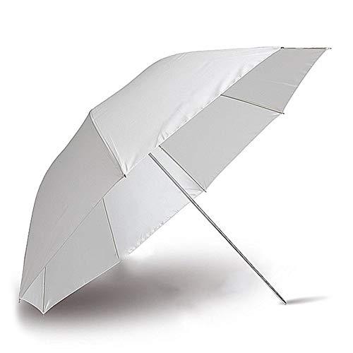 FEKETEUKI Fotografía Photo Pro Studio Soft Translucent White Lambency Umbrella para iluminación de lámpara de Flash de Estudio Aparato fotográfico-Blanco-1 Tamaño