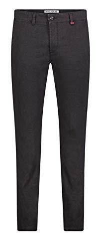 MAC Jeans Herren Lennox Hose, 090B Black Printed, 33/32