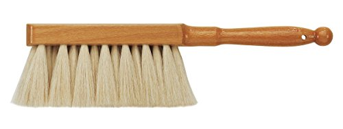 da Vinci Graphic Design Series 2485 - Dusting Brush - Soft White Goat Hair with Lacquered Wood Handle