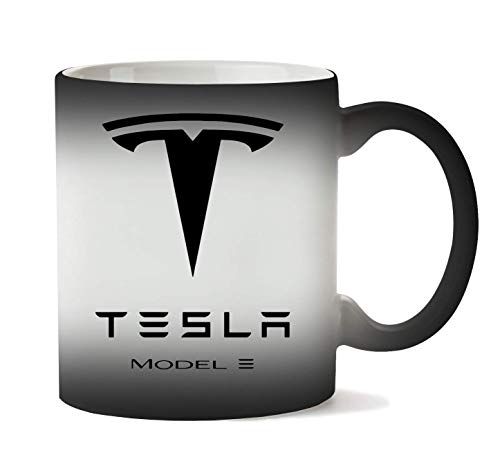 Herto Art Tesla Model S Tasse Hitze Farbwechsel