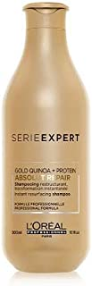 L'Oreal Instant Resurfacing Shampoo Absolut Repair Infused with Gold Quinoa + Protein