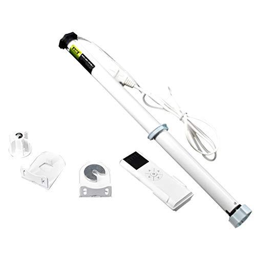 Cortina eléctrica de 100 – 240 V con mando a distancia estor motor Tubular, material plástico metal, motor + fernbedienung + installationscode,