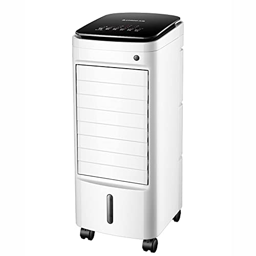 N&W Portable Air Conditioner Fan Cooling Refrigeration 65W Water-Cooled Electric Mini Floor Air Conditioner with 3 Speeds for Room Home Office