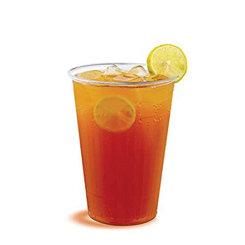 Matana 50 bicchieri in plastica rigida usa e getta, trasparenti, 200 ml