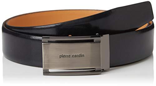 Pierre Cardin, Ceinture en Cuir Homme, Noir (schwarz 10), 105 cm