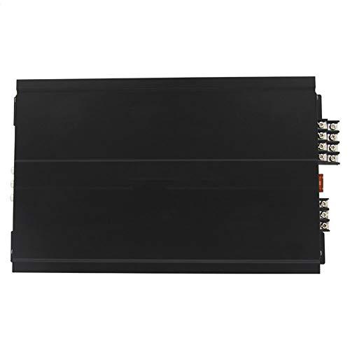 WWMH Amplificador Coche,Amplificador de Potencia de Cuatro Canales,Sonido Envolvente 360,Sin Ruido de Corriente,Compatible con La MayoríA de Los Modelos