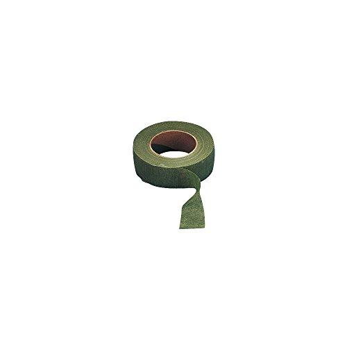 Rayher 5105114 Flora-Kreppband, oliv, Rolle 27,5 m, Breite 26 mm, Flower Tape, Floristenband, praktisch für Floristik- und Bastelarbeiten