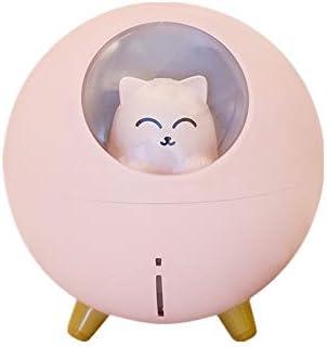 ZEINZE Humidifier Air Humidifier Cute Cat Desktop Night Light Humidifier USB Charging Suitable product image