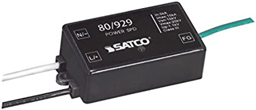 Satco 80/929 100-277 Volt Height 0.83 inches Length 3.19 inches Ac 1.1 kV Protection Level LED HID Surge Protector