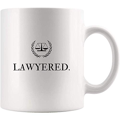 Rechtsanwalt-Rechtsanwalt-Kaffeetasse-Bier-Schale - lawyered Jurastudenten-Staffelungs-beste Geschenkidee für Mitarbeiter-Arbeitgeber