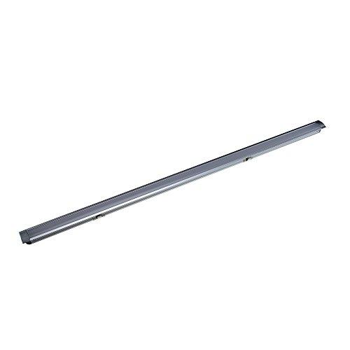 Reno 611 Profilleuchte 61,1 cm 6500K Kaltweiß mit Aluminium - [LED Profil, Lichtleiste, Wohnzimmer Beleuchtung, Indirekte Beleuchtung, Alu-profil, Einlassleuchte, Küchenbeleuchtung] (Nur die Leuchte)
