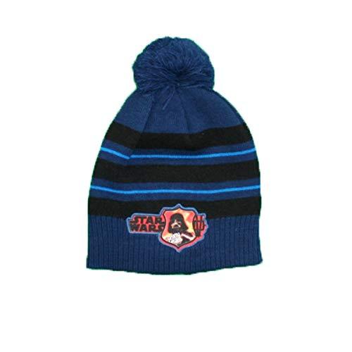 Star Wars Mütze mit Bommel für Jungen Gr. One size, blau