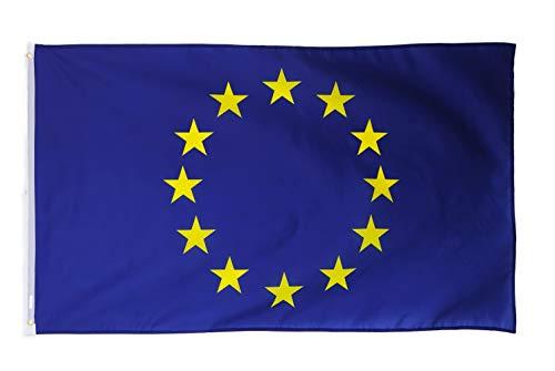 Star Cluster 90 x 150 cm Europaflagge/Europa Flagge/Europa Fahne/European Flag (EU 90 x 150 cm)