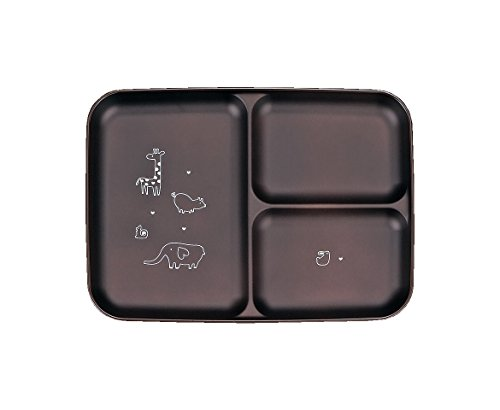 ハウスホールド あにまる・わ~るど ランチ皿 BR 食器洗い機対応 電子レンジ対応 おしゃれ かわいい 日本製