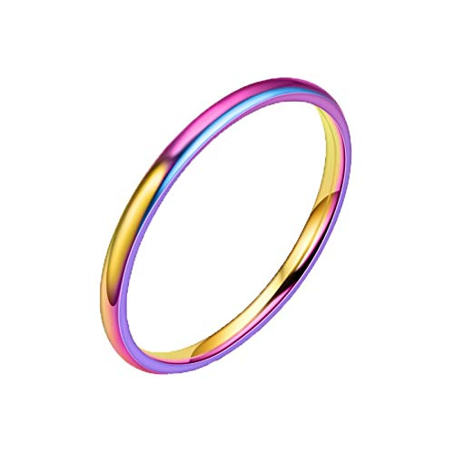 BURFLY Damen Fashion Solid 925 Sterling Silber Weiß Geometrie Ring Schmuck Ring Größe 5-12 Einfarbig Einfach Elegant Women Ring Valentinstag Mode Retro Girlfriend Festival Gift