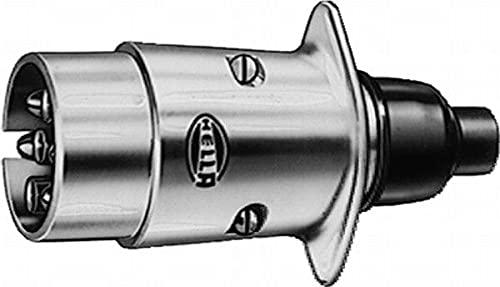 HELLA 8JA 001 918-011 Stecker - 12V - 7-polig - Stecker: Flachstecker