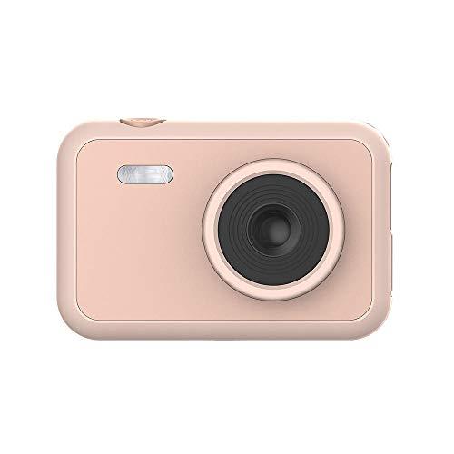 FLHLH Mini cámara Digital compacta, cámara Digital 1080 para niños, Pantalla SLR de 2.0 Pulgadas, Mini cámara réflex Digital, Capacidad de batería de 700MAH, Rosa, Principiantes niños niñas