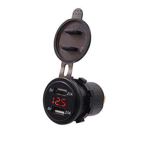 IJeilo autoaccessoires auto decoratie Dual USB autolader sigarettenaansteker In-Car-Gadget