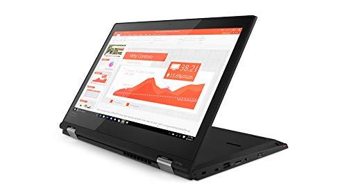 "Lenovo Thinkpad L380 Yoga 13.3"" IPS Full HD FHD (1920x1080) Touchscreen 2-in-1 Business Laptop (Intel Core i3-8130U, 8GB DDR4 RAM, 256GB SSD) Type-C, Windows 10 Pro (Renew ed)"
