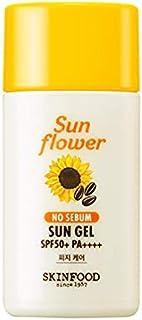 Skinfood サンフラワー無皮脂サンゲルSPF50 + PA ++++ / Sun Flower No Sebum Sun gel SPF50+ PA++++ 50ml [並行輸入品]