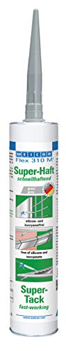 Weicon 13652290 Flex 310 M Super-hechting 290 ml grijs MS-polymeer zeer hoge hechting